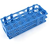 Teal Blue Plastic 21 Holes Box Rack Holder for 50ML Centrifuge Tubes