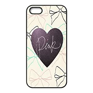 Cool Painting Love Pink Brand New Cover Case for Iphone 5,5S,diy case cover case568811