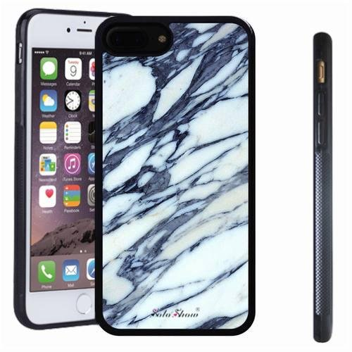 iphone 7 8 Plus case, SoloShow(R) Slim Shockproof TPU Soft Case Rubber Silicone for Apple iphone 7 8 Plus [white 8]]()