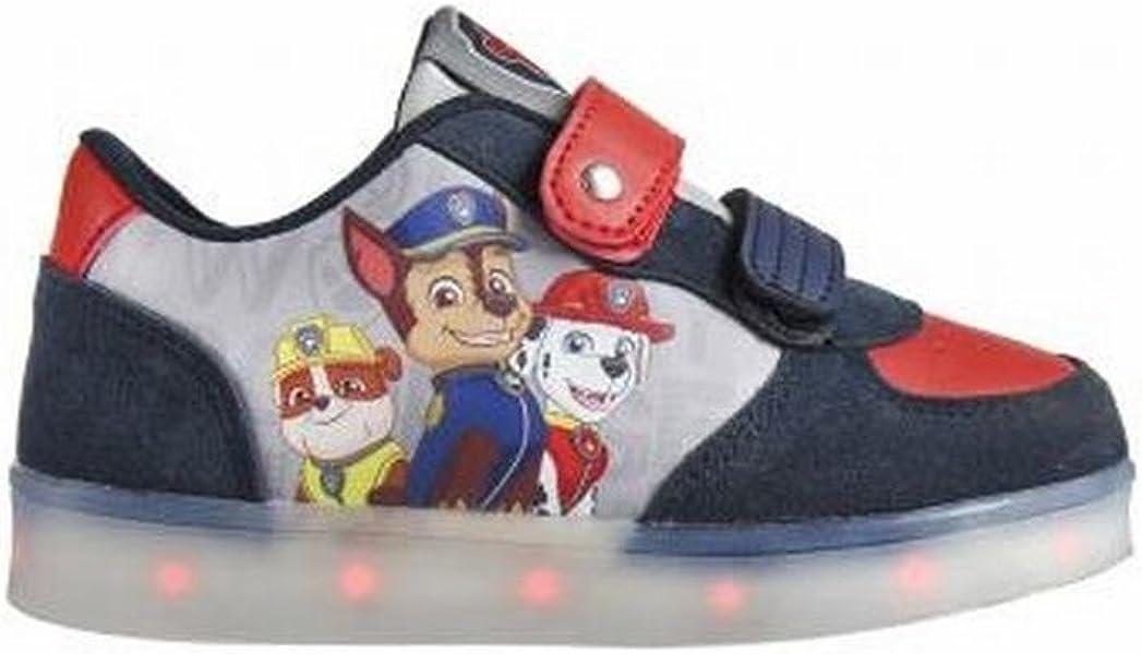 Zapatillas deportivas con luz Patrulla Canina T.29