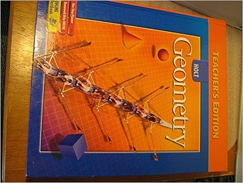 Holt mcdougal geometry, teacher's edition (common core edition.