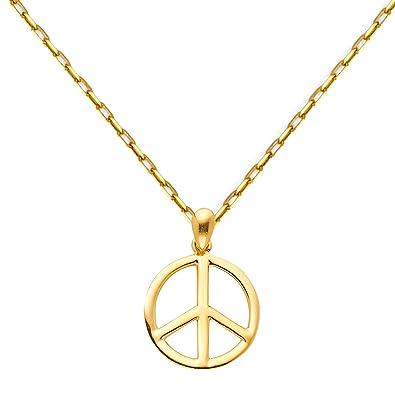 Damen TGDJ Halskette 14 Karat Gelbgold massiv 1,5 mm Diamantschliff Karabinerverschluss Damen-Schmuck