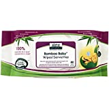 Bamboo Baby Wipes by Aleva Naturals - 80 Wipes