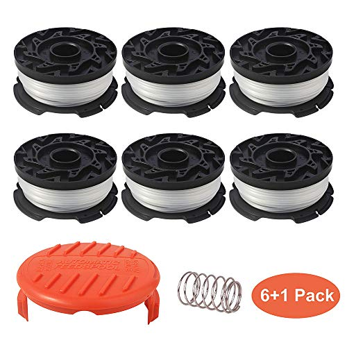 - Thten String Trimmer Spool Replacement for Black and Decker AF-100, 30ft 0.065