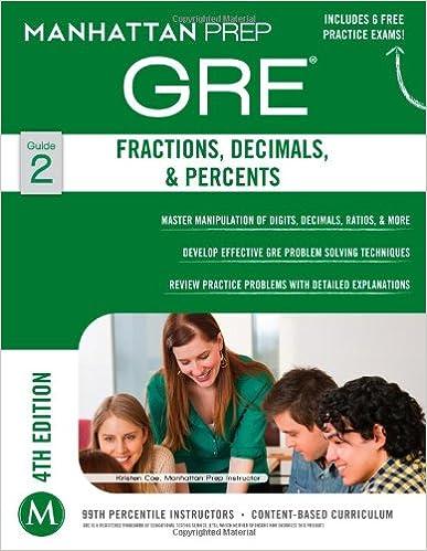 GRE Fractions, Decimals, & Percents (Manhattan Prep GRE Strategy ...