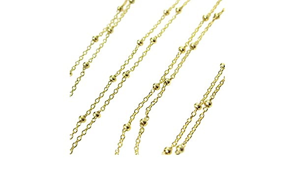 Princess Kylie Yellow Gold-Tone Plated Sterling Silver Oval Loop Chain 3.7mm
