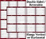 24x36 SwiftGlimpse 2020 Wall Calendar Erasable