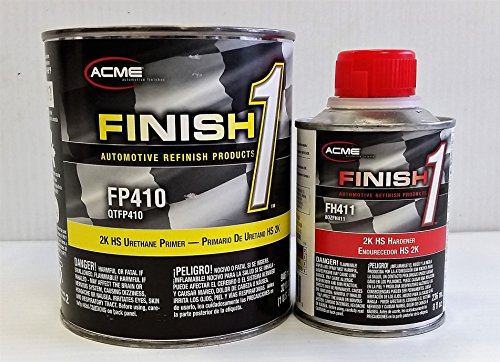- FP 410 Urethane Primer Sherwin Williams Restoration auto car Paint QT KIT FINISH1