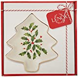 Lenox 879592 Holiday Tree Shaped Party Plate