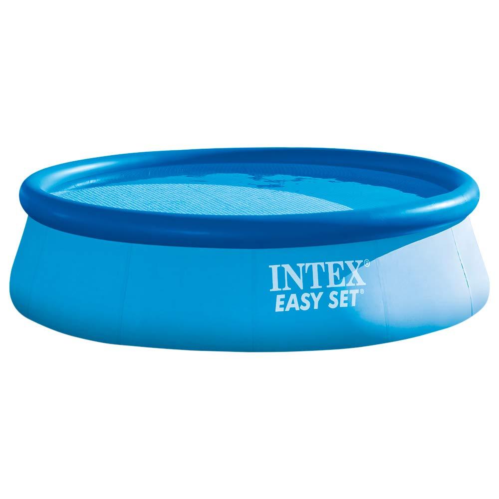 Intex 28130NP - Piscina hinchable Easy Set 366 x 76 cm, 5.621 litros: Amazon.es: Jardín