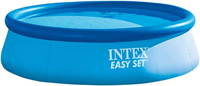 Intex 28130NP - Piscina hinchable Easy Set 366 x 76 cm, 5.619 litros: Amazon.es: Jardín