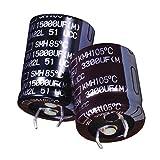 Aluminum Electrolytic Capacitors - Snap in 22000uF 16 Volt - Pack of 10 (EKMH160VNN223MQ45S)