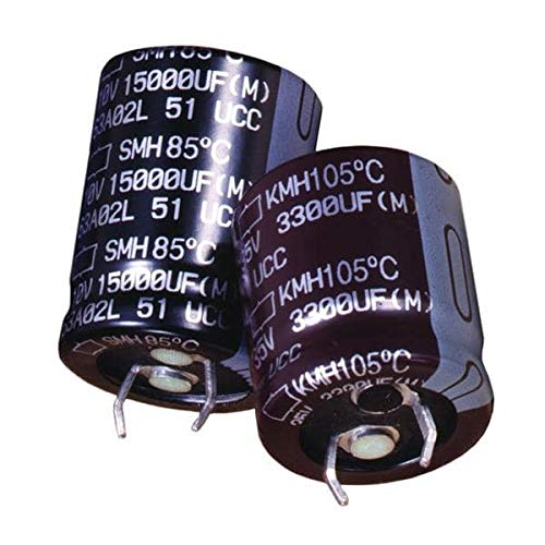 Aluminum Electrolytic Capacitors - Snap in 22000uF 16 Volt - Pack of 10 (EKMH160VNN223MQ45S)