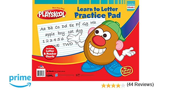 Counting Number worksheets letter trace worksheets : Amazon.com: Playskool ABC Learn To Letter Pad: Toys & Games