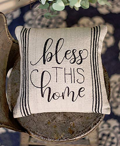 Craft House Designs Bless This Home Small Pillow 10