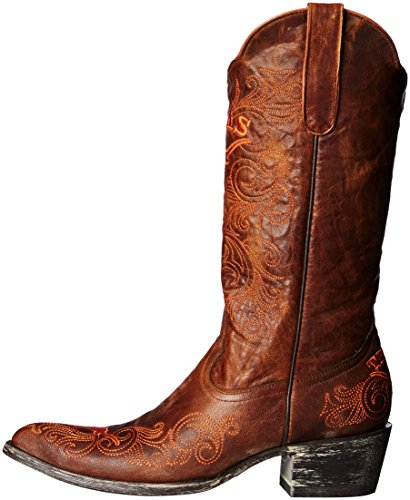 13 Inch Women's Boots Gameday NCAA Brass Longhorns Texas nxfXYwq4R