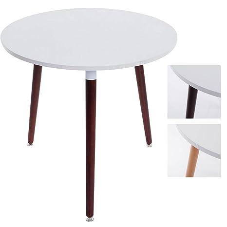 CLP Tavolo da pranzo di design ANSGAR, tavolo da cucina, rotondo, Ø ...