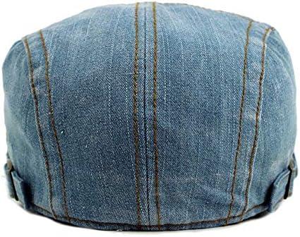 野球帽 キャスケット メンズ ハット ゴルフ コットン 調整可能 ソフト カジュアル ハンチング LWQJP (Color : 1, Size : Free size)