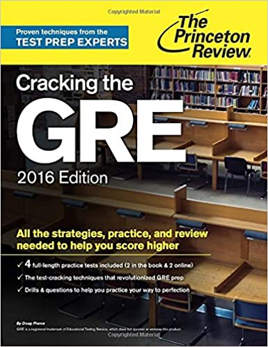 Cracking The Gre With 4 Practice Tests 2016 Edition Graduate