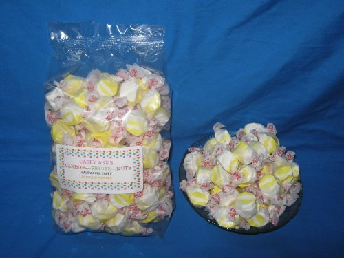 Buttered Popcorn Flavored Taffy Town Salt Water Taffy 2 Pounds