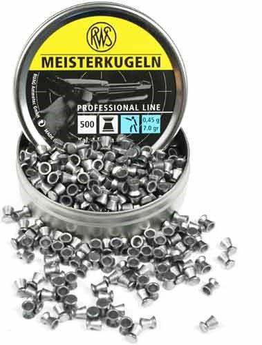 RWS Meisterkugeln Pellets .177, 7.0G-500 Count by Umarex USA