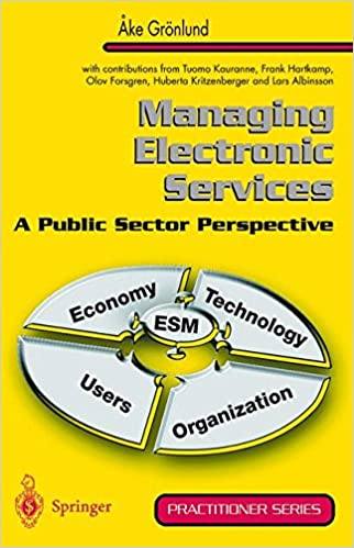 Managing Electronic Services A Public Sector Perspective