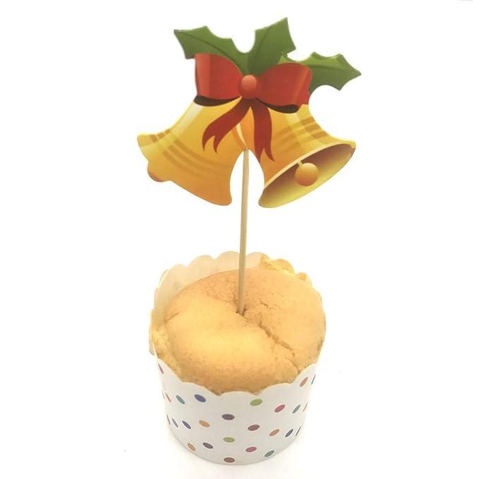 Amazon.com: Euone - 10 etiquetas para decoración de tartas ...