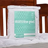 #7: ExceptionalSheets Toddler/Crib Mattress Pad - Perfect for Small Child / Infant, Moisture Resistant