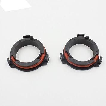 Rungao 2 Stück H7 Led Lampen Scheinwerfer Adapter Base Halter Für Opel Astra G Honda Cr V Auto Mazda Mehr Auto