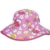 Baby Banz 7733 Banz 50+ UV Koruma Çift Taraflı Güneş Şapkası, 2-5 Yaş/50-56cm, Pembe