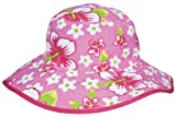 Baby BanZ UV Reversible Bucket Hat, Pink Floral, 2-5 Years image