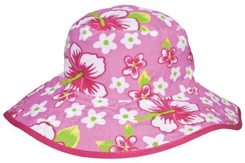 Baby BanZ UV Reversible Bucket Hat, Pink - Banz Baby Pink