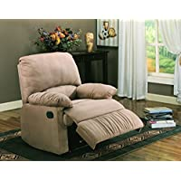 Coaster Recliner-Light Brown