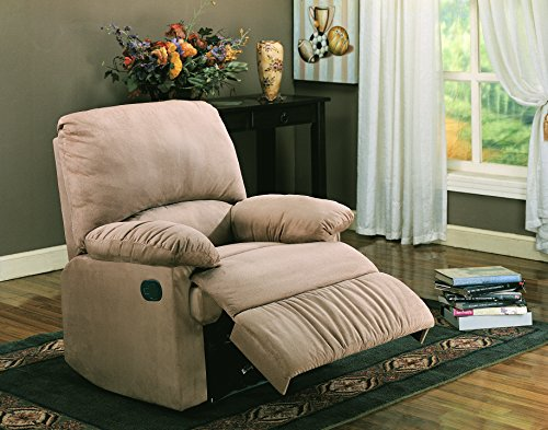 Coaster Home Furnishings Upholstered Recliner Tan ()