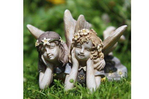 Miniature Fairy Garden Iris And Lyla Iris Garden Statue