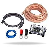 InstallGear 1/0 Gauge Amp Kit Ga Amplifier Installation Wiring True Spec and Soft Touch Wire - Power Only