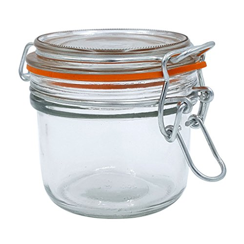 Anchor Hocking 98908 5.4 Oz Glass Heremes Clamp - Heremes Jar