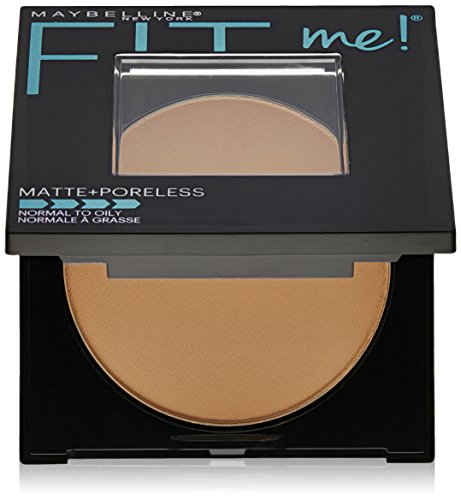 Maybelline New York Fit Me Matte Plus Poreless Powder, Pure Beige, 0.3 Ounce - Fit Face