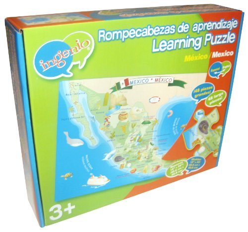 Ingenio Mexico Map Bilingual Learning Puzzle by Ingenio ()