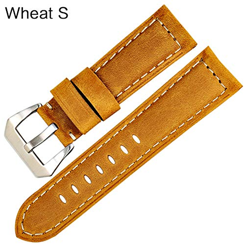 Jewh Vintage Style Watchbands - Watch Accessories - Cow Leather Watch Band 22 24 26mm -