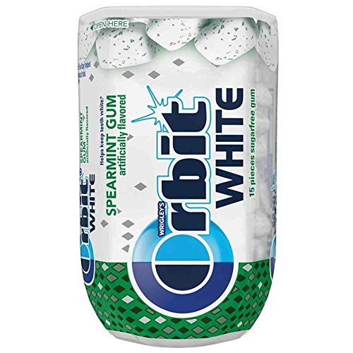 Orbit White Spearmint Soft Chew Gum -- 90 per case. - Wrigleys Orbit White Spearmint