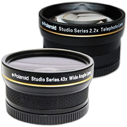 ae3c59d8e0 Image Unavailable. Image not available for. Color  Polaroid Studio Series  52 55 58mm .43x HD Wide Angle ...
