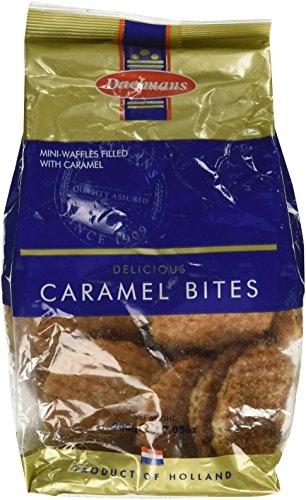 (Daelmans Delicious Caramel Bites Mini-Wafers Filled with Caramel (200 g/7.05 oz) Product of Holland)