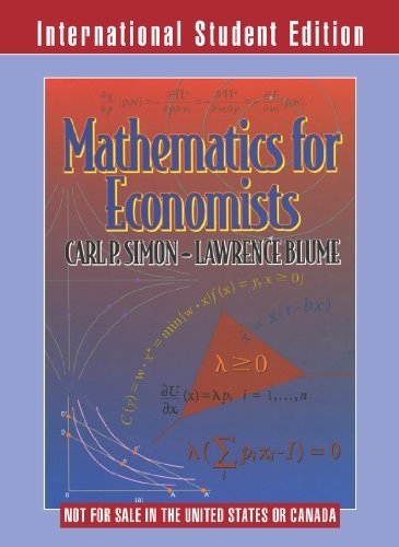 Download Mathematics for Economists by Carl P. Simon (2010-07-13) by (Paperback).pdf