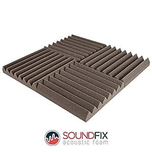 Losetas de espuma acústica, tratamiento de acústica de estudio de grabación profesional (