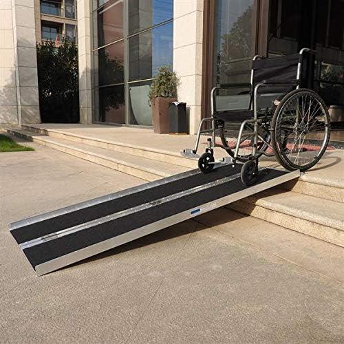 Amazon.com: Gharpbik - Rampa de aluminio antideslizante para ...
