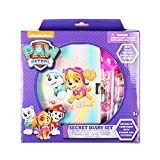 Paw Patrol Nickelodeon Girl Secret Purple Diary Set for Girls