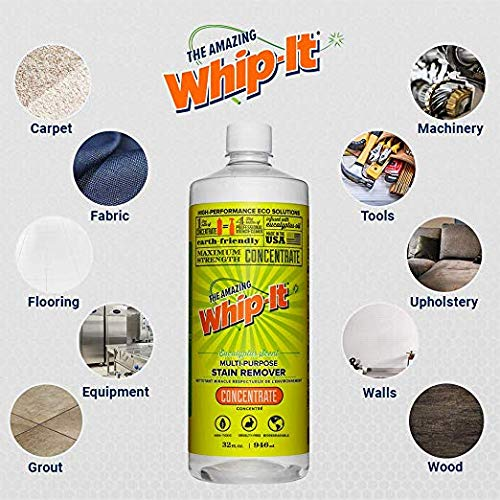 Whip-It milagro limpiador concentrado (32 oz - Pack de 2 ...