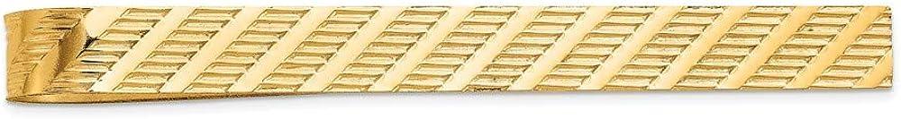 Mia Diamonds 14k Yellow Gold Tie Bar
