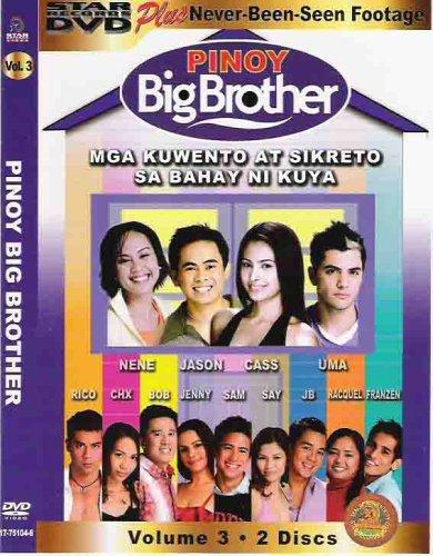 Pinoy Big Brother Volume 3 Day 92-Big Night Finale 2 Disc Set
